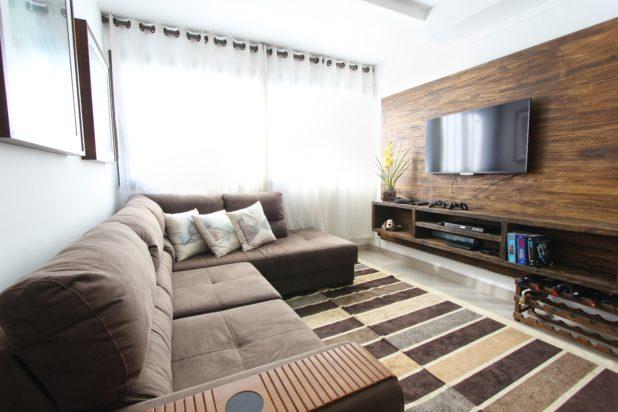 hellbraunes wohnzimmer
